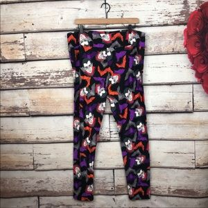 Lularoe TC2 Halloween Vampire Dracula Leggings